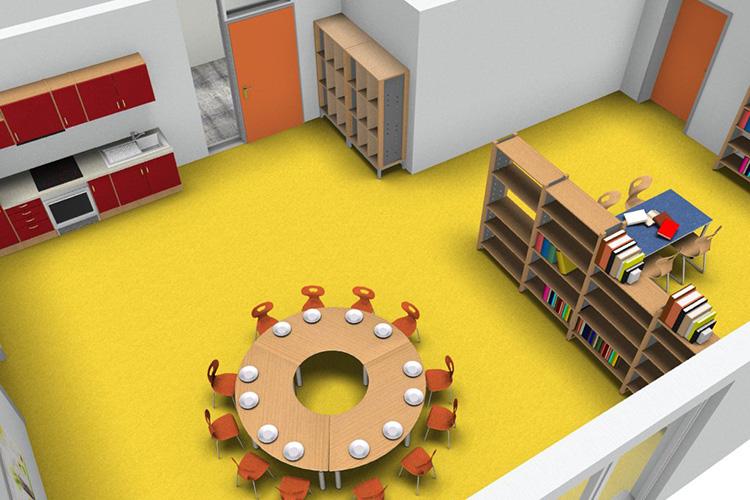 Visualisierung Kindertagesstätte Albaching