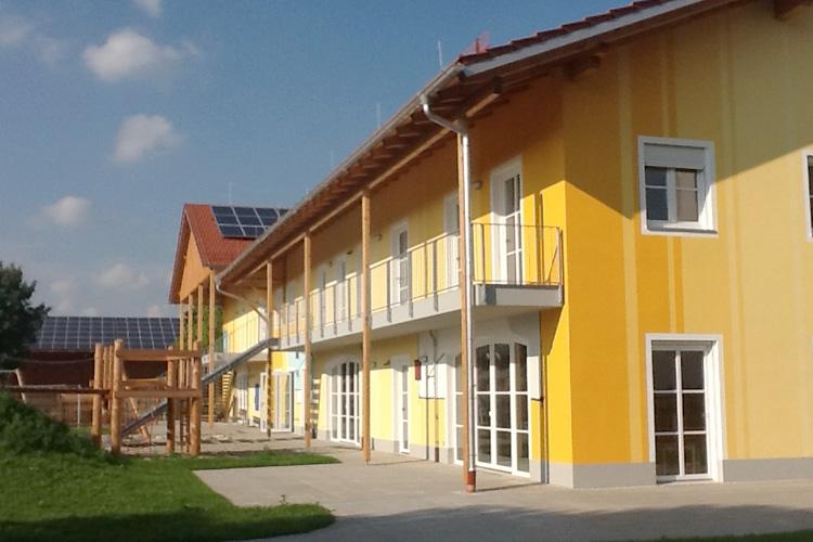 Außenansicht Kindertagesstätte Albaching