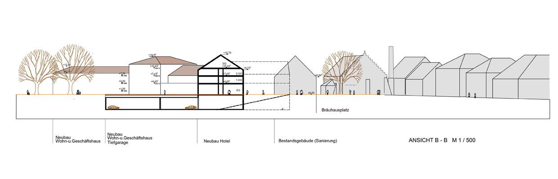 Plan Neue Mitte Haag